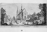 View of the Abbey Church of St Victor, of the Order of Canons Reguliers of St Augustin, on the side of Paris, in the …