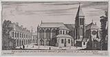 Profile of the Temple Church, the plan of which all Architects admire and believe to be one of the most beautiful in …