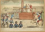 Execution of Marie-Antoinette, widow of Louis Capet, on the Place de la Révolution
