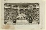 Trial of Louis XVI at the Assembly of the National Convention, Hall of the Manege of the Tuileries Palace, 11 December …