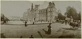Panoramic view, Place de l'Hotel de Ville, 4th arrondissement, Paris, circa 1895–1900