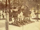 Children on mechanical horses, Jardin du Luxembourg, 5th arrondissement, Paris