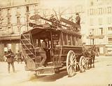 Omnibus place Saint-Sulpice, 6th arrondissement, Paris