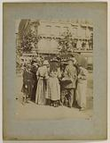 Ice cream seller, boulevard Saint-Michel, place Edmond-Rostand, 6th arrondissement, Paris