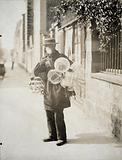 Basket merchant, Paris