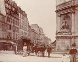 Cuvier fountain, corner of rue Linné and rue Geoffroy-Saint-Hilaire, 5th arrondissement, Paris