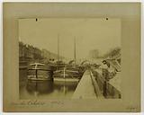 Quai des Célestins, Marie bridge, barges, 4th arrondissement, Paris