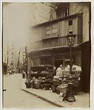 Shop at the corner of rue Galande, 5th arrondissement, Paris