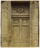 Door, Saint Nicolas-du-Chardonnet church, 32 rue Saint-Victor, 5th arrondissement, Paris