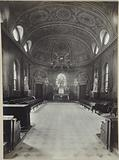 Interior view of the chapel of the Seminary of the Holy Spirit, 30 rue Lhomond, 5th arrondissement, Paris