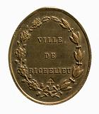 """""""To the dedication of the Firemen of the city of Richelieu"""""""