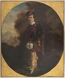 Portrait of Gilbert Duprez, singer, as Edgardo in Lucia di Lammermoor