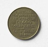 """Homage of the workers to citizen Lecoq Louis-Marie, 8 April 1848"""