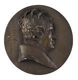 Portrait of André-Marie Ampère, philosopher, mathematician and physicist