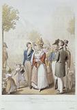 Paris painting. The Jardin des Tuileries, Café Véry, the terrace of the feuillants, the Beau-Monde, elegans, soldiers, …