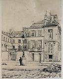 The house of Barge, 4 quai des Célestins, 4 March 1889