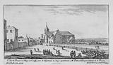 View of the Priory and Village of Croissy near St Germain en Laye belonging to Mr Patrocle Escuyer Ordinary de la Reyne