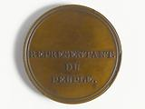 Official medal of representative of the people at the Council of Five Hundred, 1795