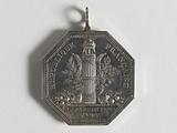 Official medal of representative of the people at the Conseil des Cinq-Cents, 2nd session, having belonged to Jacques …