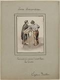 [The prisons of Paris] Anthropometric Service; Bertillon system; How to measure the forearm. The cubit.