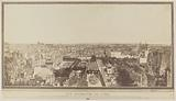 General view of Paris, taken from the belvedere of the house of Monsieur Fournel, rue des Boulangers, ditches …