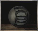 Metallic sphere used during the siege of 1870–71, for transporting dispatches by water