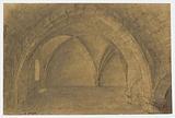Cave 10 rue de l'Abbaye (location of the eastern building of the large cloister of the Saint-Germain-des-Prés abbey), …