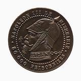 Satirical medal representing Napoleon III, s. D.