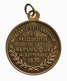 Proclamation of the Republic on 4 September 1870
