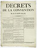 Decrees of the Convention. National.