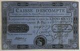 300-pound note, Caisse d'écompte, n°810-Z, Control F ° 709, 26 November 1789