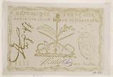 Facsimile of a 4 escalins banknote, French Republic, administration of Santo Domingo