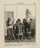 The reading committee of the French theatre, including omnibus drivers used to refuse plays