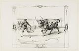 Bull Fight: The Matador shows up in front of the bull and lures it with the cloak to kill it