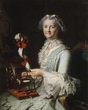 Presumed portrait of Françoise-Marie Pouget, Chardin's second wife