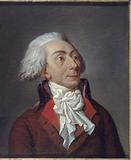 "Portrait of Louis-Michel Le Peletier de Saint Fargeau, conventional,""martyr of Liberty"""
