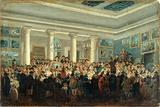 Public sale of paintings