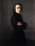 Portrait of Franz Liszt, composer and pianist