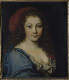 Presumed portrait of Armande Béjart, actress