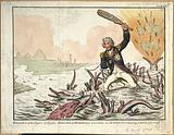 Extirpation of the Plagues of Egypt. Destruction of Revolutionary Crocodiles.