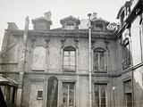 25 rue des Blancs-Manteaux, upper part of the courtyard, 4th arrondissement, Paris