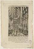 Te deum sung in ND on 14 February 1790, in memory of the session of the 4th where the king attended