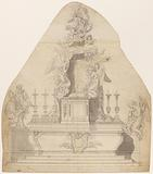 Project for a high altar from the 17th – 18th centuries