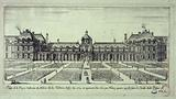 Palace of Reyne Catherine de Medicis, known as the Tuilleries basty in the year 1564. And increased in the year 1600.