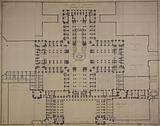Draft plan for the Madeleine church