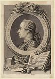 Claude-Henri Watelet engraver, member of the Académie française