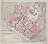 General plan of the Temple enclosure and of the new street openings and layout of the plaza that are planned there