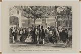 Paris. New Temple market. The clothes purse.