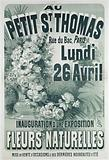 At the Petit ST. Thomas. Rue du Bac, Paris. Monday. 26 April. Inauguration of an Exhibition of Natural Flowers.