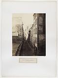 Rue Saint-Nicolas-du-Chardonnet, view taken from rue Traversine, 5th arrondissement, Paris
